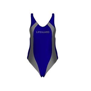 blue womens lifeguard 3D model