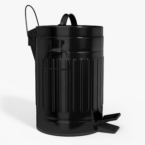pedal trash bin contains model
