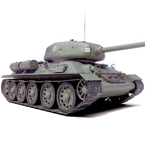3D tank t-34-85