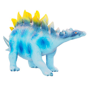 3D stegosaurus toy