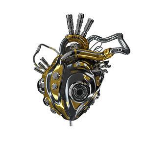 bionic heart robot 3D