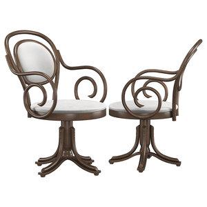 bentwood chair b-8033 3D