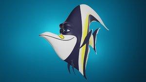3D fish gill nemo