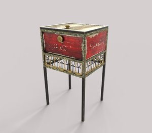 ancient egyptian furniture 3D