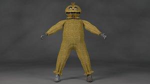 3D goblin model