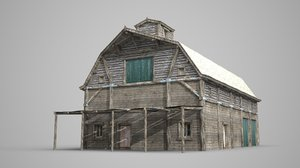 modern construction rural 3D model