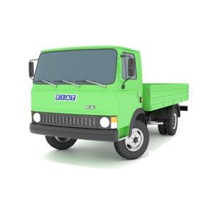 3D italian transport truck fiat