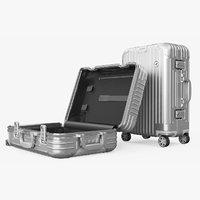 Travel Suitcase Rimowa Original Cabin Silver