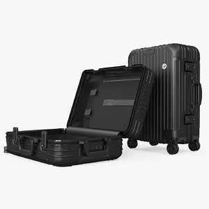 3D travel suitcase original