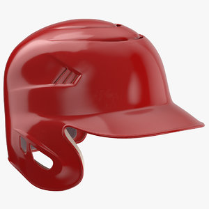 3D baseball helmet ear flap