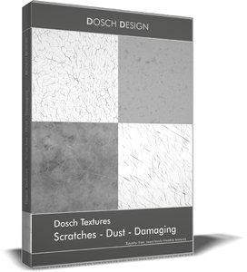 Dosch Textures -Scratches - Dust - Damaging