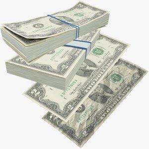 dollars bills model