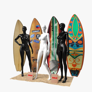 3D surfboards