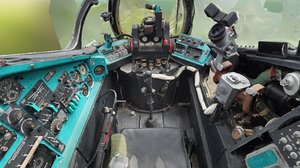 gunner - co-pilot cockpit 3D