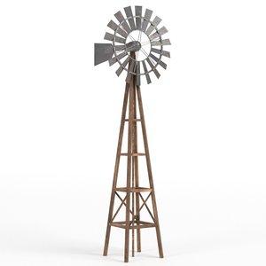 max windmill asset rendered