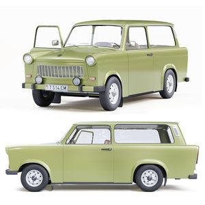 trabant 601 kombi 1975 model