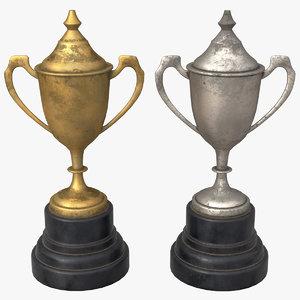 pbr trophy 3D