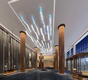 lobby interiors 3D