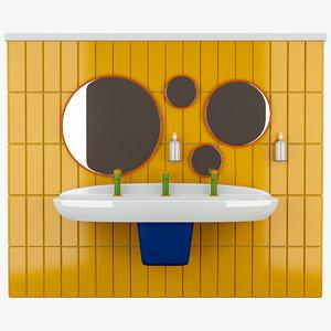 vitra sento kids bathroom set model