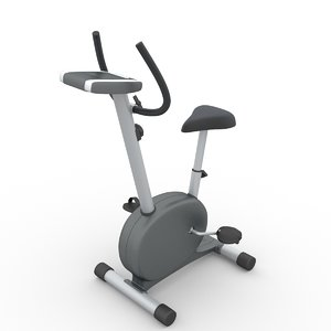 stationary spinning bike torneo 3D model
