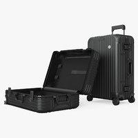 Travel Suitcase Rimowa Original Check-In Black