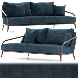 3D sofa interior seat model