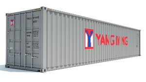 shipping container yang ming model