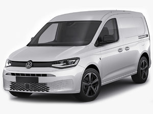 volkswagen caddy 2021 3D