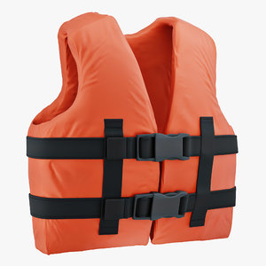 3D life vest model