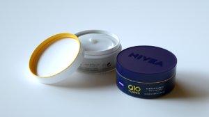 3D realistic face moisturizer