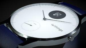 3D watch smart smartwatch model