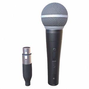 3D model microphone shure sm58