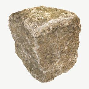 stone photogrammetry 3D model