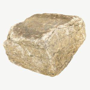 stone photogrammetry model