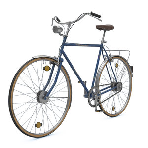 3D old bike model