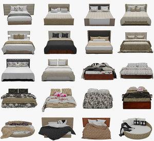 3D 20 beds model