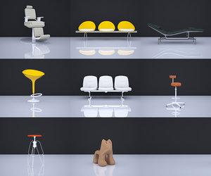 stool seating furniture model