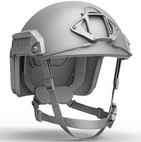 Ops Core FAST ballistic helmet