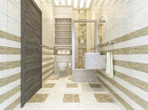 3D interior bath