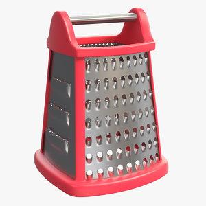 kitchen box grater 3D