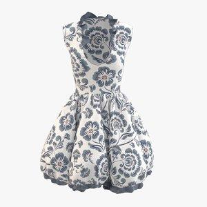 dress cloth 3D model