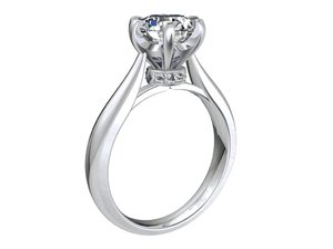 jewelry engagement ring hybrid 3D