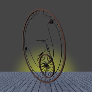 3D monowheels model