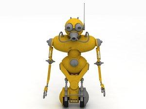 jawa droid kitbash 3D