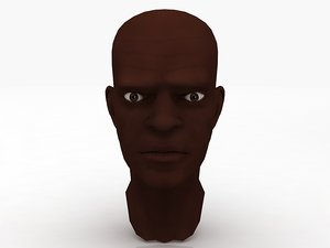 3D macewindu windu head