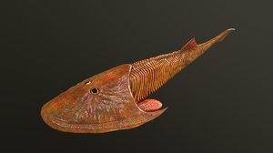 3D cephalaspis