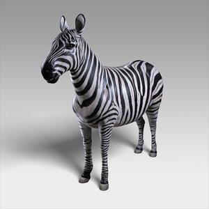 zebra rigged 3D