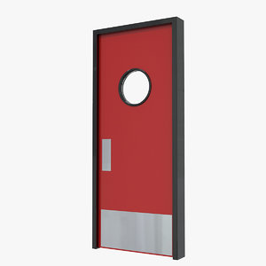 3D service door