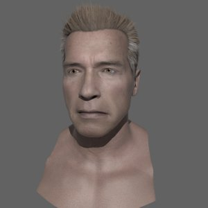arnold schwarzenegger 3D model
