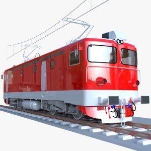 3D romanian locomotive model